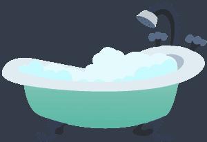 افضل طريقة للاستحمام