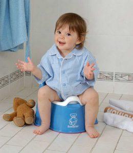 طريقة تعليم الطفل الحمام