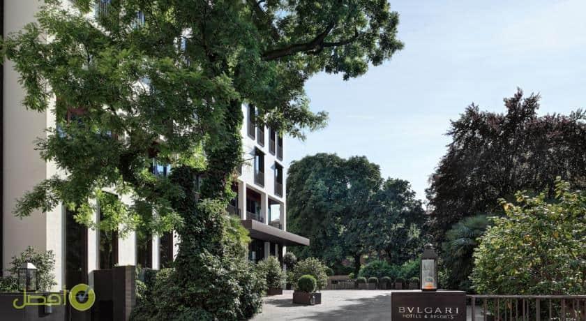 فندق بولغاري ميلان احد افضل فنادق ميلان