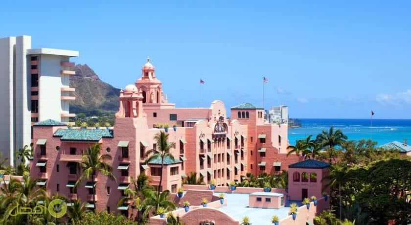 منتجع ذا رويال هاواي، لوكشري كوليكشن، ويكيكي احد افضل الفنادق في هاواي