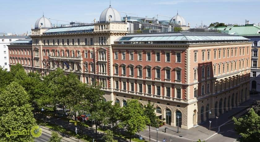 بالاس هانسن كمبينسكي فيينا من افضل الفنادق في فيينا