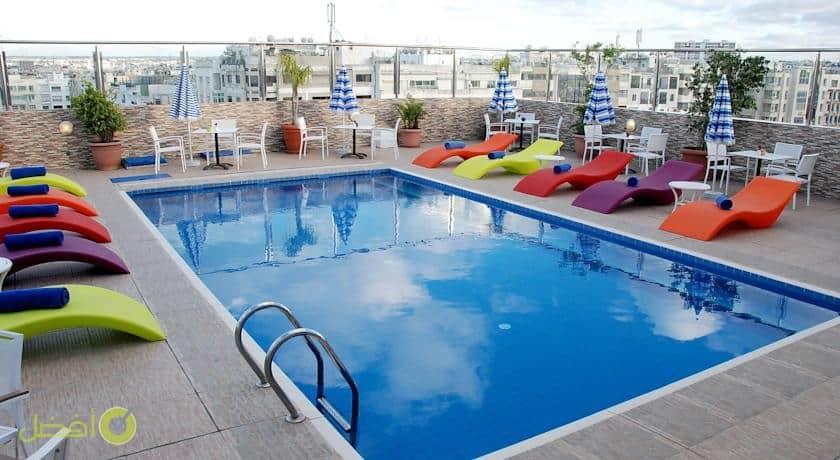 لو بالاس دانفا من افضل الفنادق في شاطئ عين الذئاب في الدار البيضاء