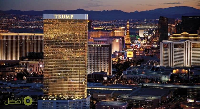 فندق ترامب انترناشيونال لاس فيغاس من افضل الفنادق في لاس فيغاس