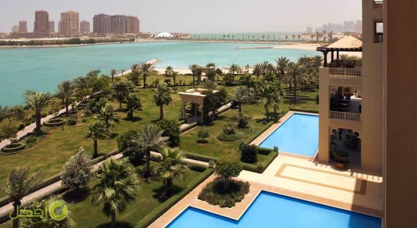 فندق جراند حياة الدوحة وفلل