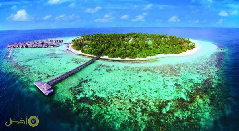 آوتريغر كونوتا مالديف ريزورت افضل جزر المالديف للعرسان