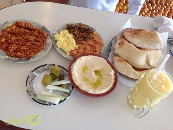 فطور مطعم ماما نورة Mama Noura