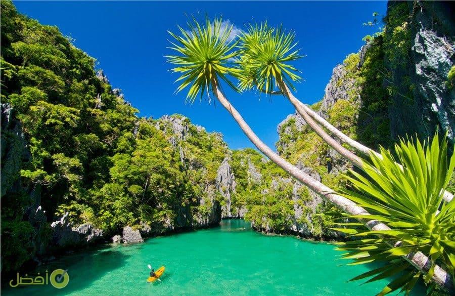 جزيرة بالاوان من افضل الاماكن السياحية في الفلبين بالصور
