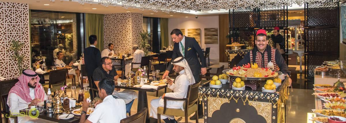 إفطار رمضان في فندق نارسيس
