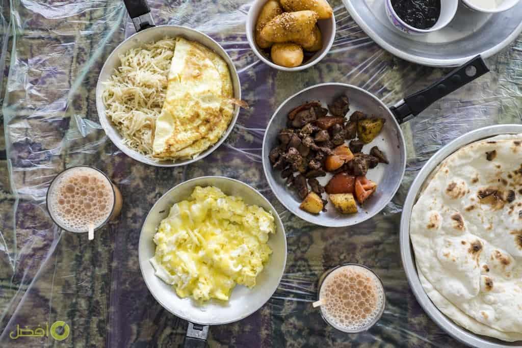 مطعم اموش مطعم ريوق شعبي في البحرين اموش، مطعم شعبي مقابة، البحرين