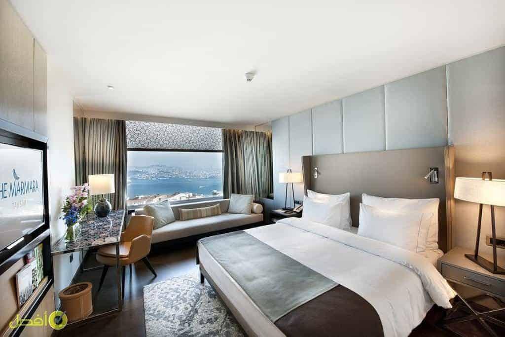 ذا مارمارا تقسيم أفضل فنادق اسطنبول للعوائل مطلة على البسفور
