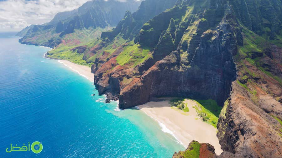 جزر هاواي افضل مكان لقضاء شهر العسل المسافرون العرب