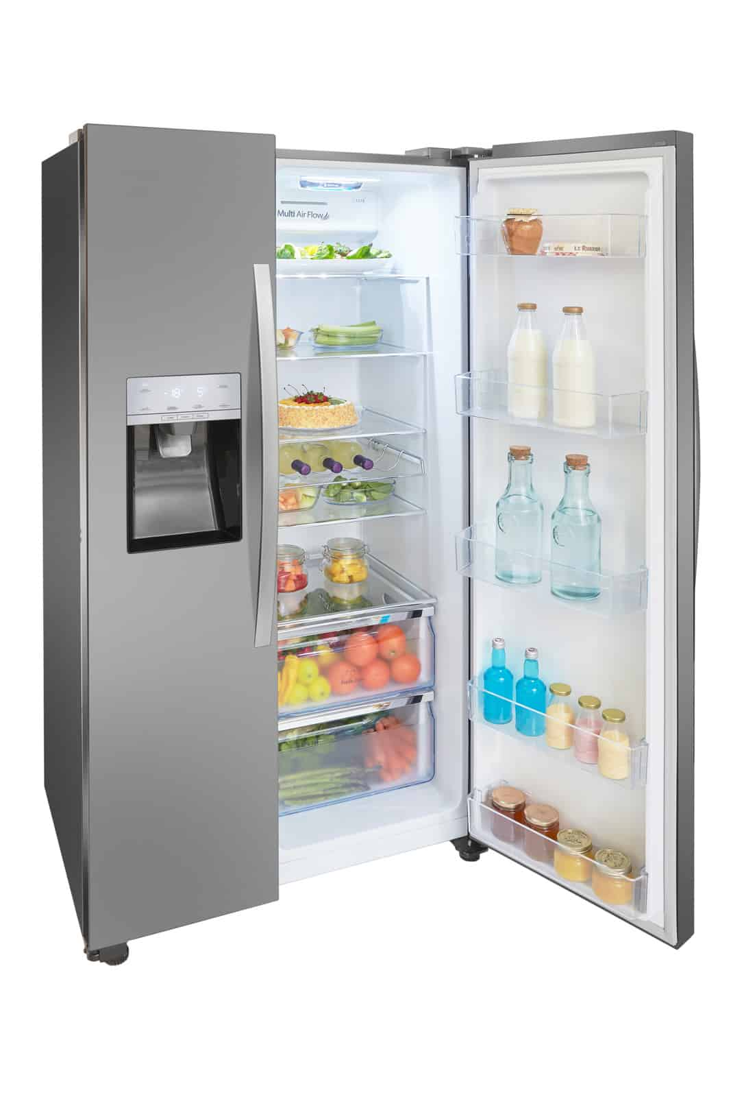 الشكل الخارجي لثلاجة هايسنس RS696N4II1