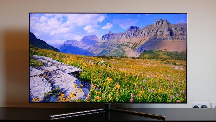 شاشة تلفزيون سامسونج Q7F المسطحة