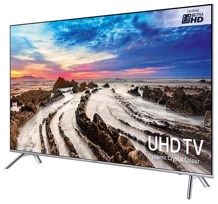 التصميم والجودة لتلفزيون سامسونج - UE49MU7000T
