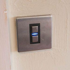 إعدادات مفتاح لايت ويف الذكي للأبواب Lightwave Generation 2