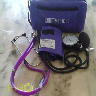 أفضل جهاز قياس الضغط يدوي من العلامة التجاريةSantamedical