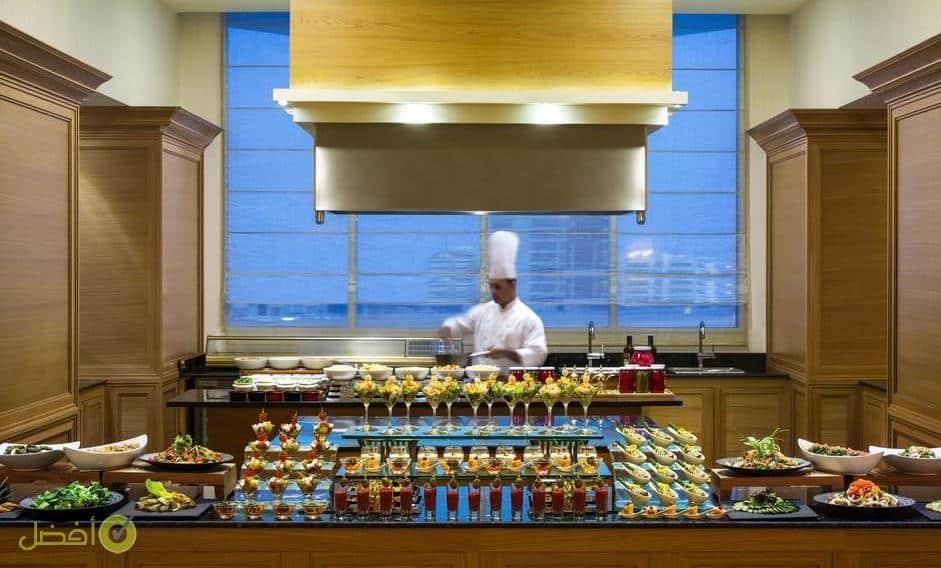 افطار رمضان في فندق كمبينسكي العثمان في الخبر