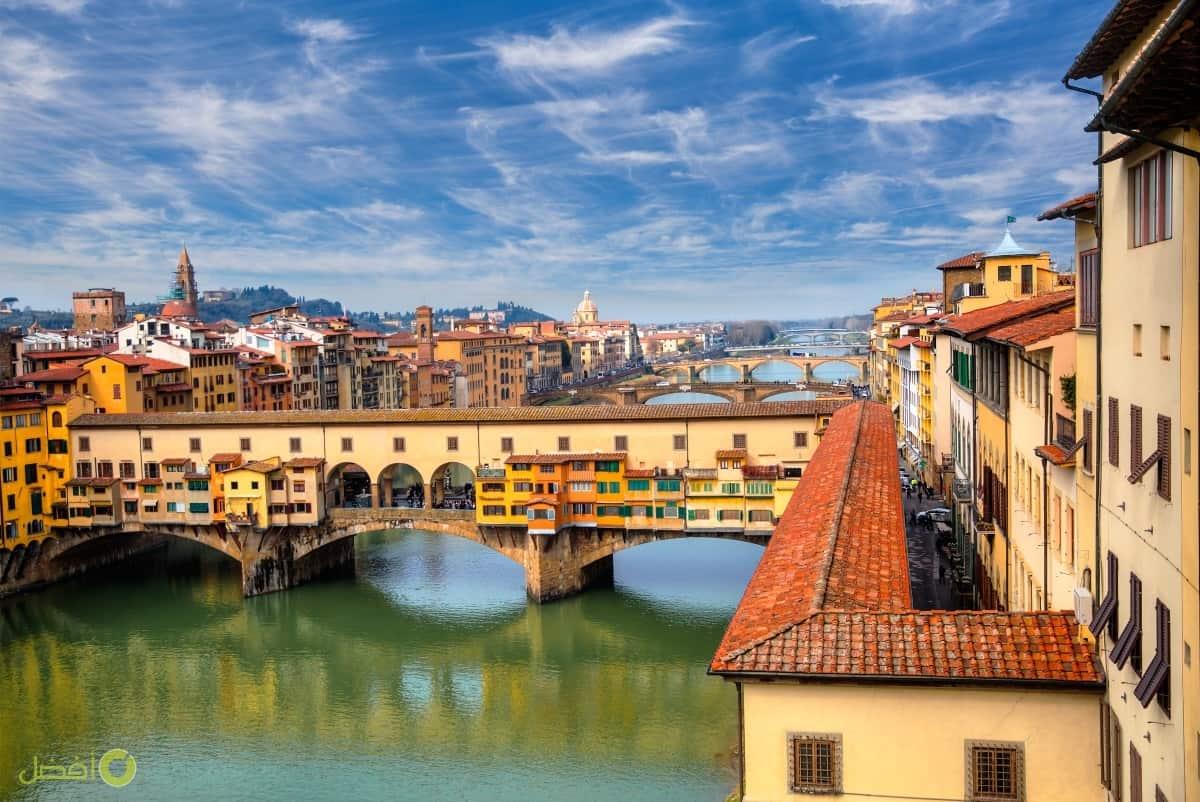 جسر بونتي فيكيو مدينة فلورنسا