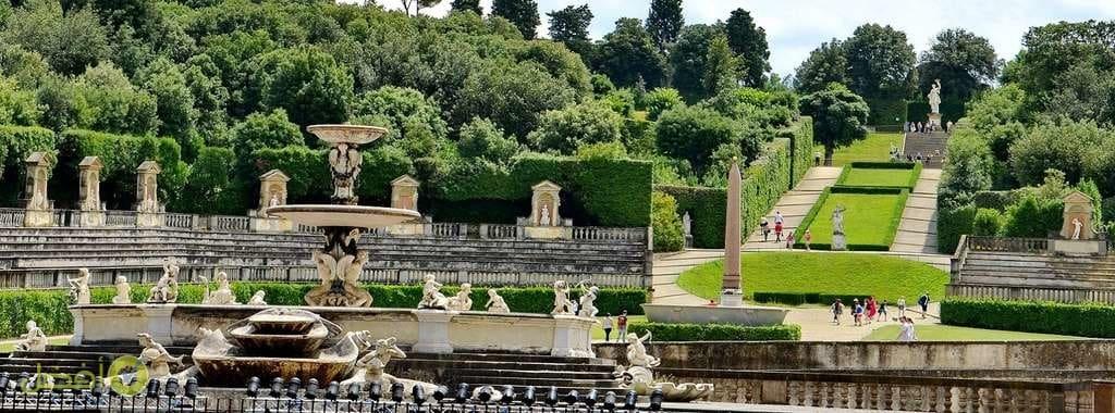 افضل الاماكن السياحية في فلورنسا حدائق بوبولي