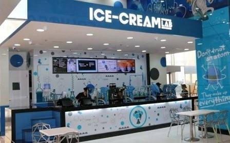 معمل الآيسكريم Ice Cream Lab في دبي