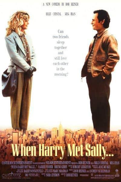 عندما التقى هاري بسالي When Harry Met Sally 1989 افضل فلم رومنسي كوميدي