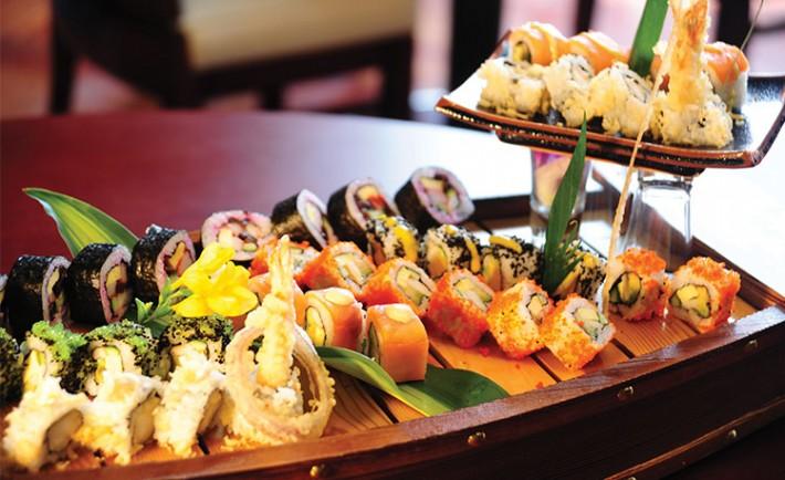 مطعم ساكورا Sakura افضل سوشي في جدة