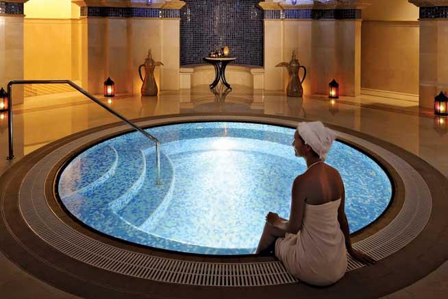 منتجع وان اند اونلي One & Only resort افضل حمام مغربي في دبي