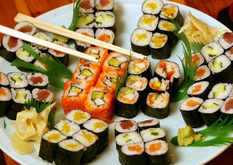 ميزو Mizu من افضل مطاعم السوشي في دبي