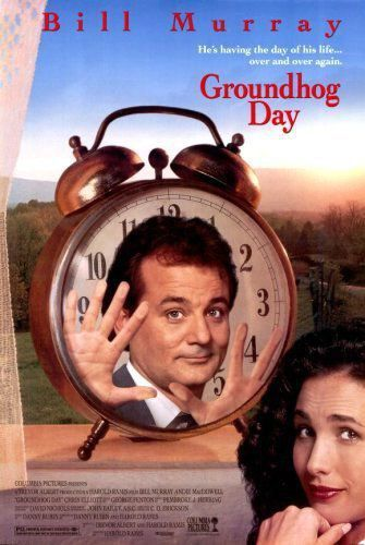 فلم يوم جراوندهوج Groundhog Day 1993