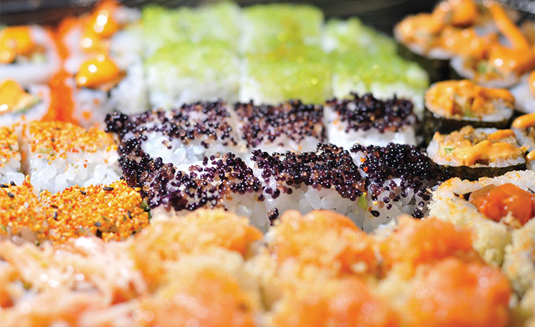 مطعم واكامي لاونج Wakame Lounge من افضل مطاعم السوشي في جدة