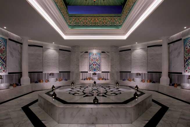 حمام مغربي في أنتارا Anantara