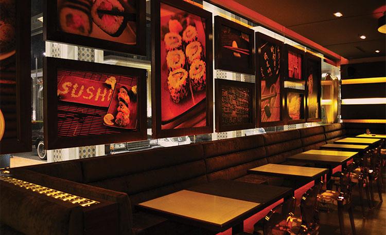 مطعم جولد سوشي كلب Gold Sushi Club