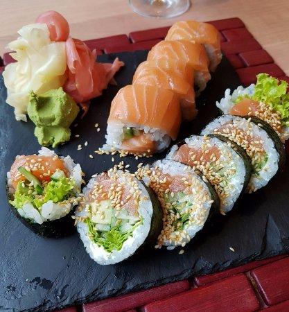 مطعم زن سوشي لاونج Zn Sushi Lounge جدة