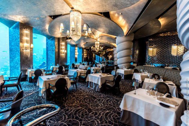 مطعم أوسيانو للسمك والمأكولات البحرية في دبي