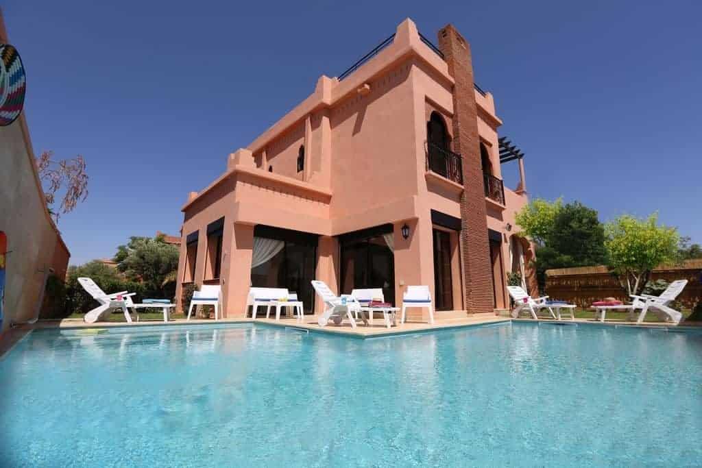 فلل زاهوا Villa Zahoua أفضل الفلل في مراكش
