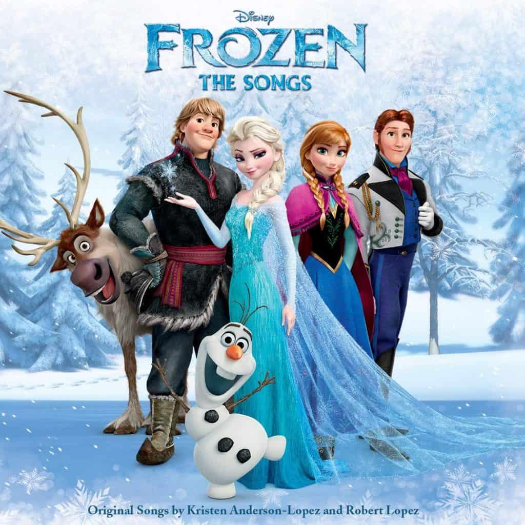 ملكة الثلج (frozen) أفضل أفلام والت ديزني