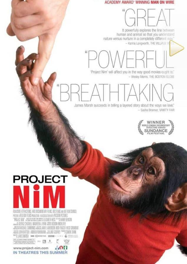 مشروع نيم Project Nim  افضل الوثائقيات المترجمة