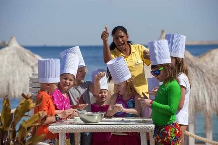 منتجع شاطئ صن رايز أرابين  للأطفال في شرم الشيخ