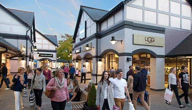 شيستر أووكز اوت لت (cheshire oaks designer outlet)