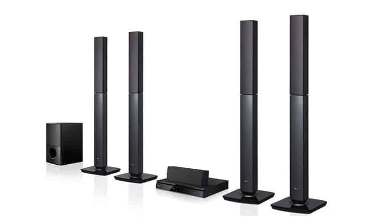 مسرح إل جي المنزلي LG LHD657 5.1-Channel Home Theater System