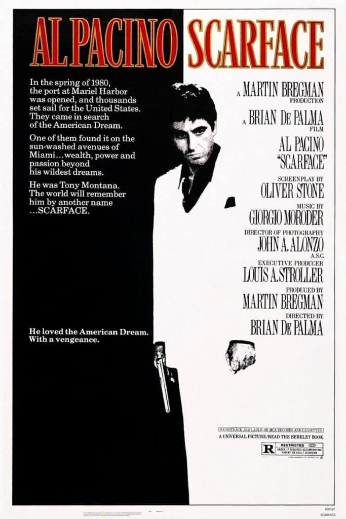 Scarface 1983 (الوجه ذو الندبة)