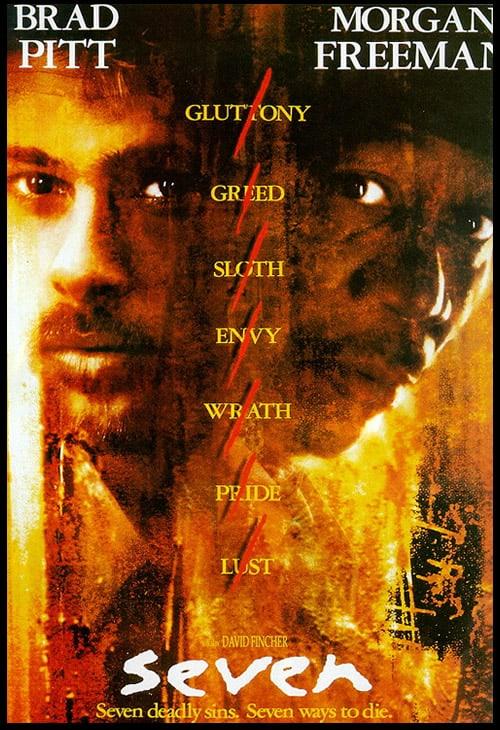 Seven 1995 (ملحمة الخطايا السبع) افضل افلام الغموض على الاطلاق