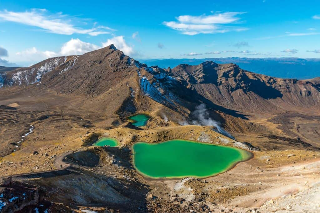 تونغاريرو ألباين كروسينج Tongariro Alpine Crossing