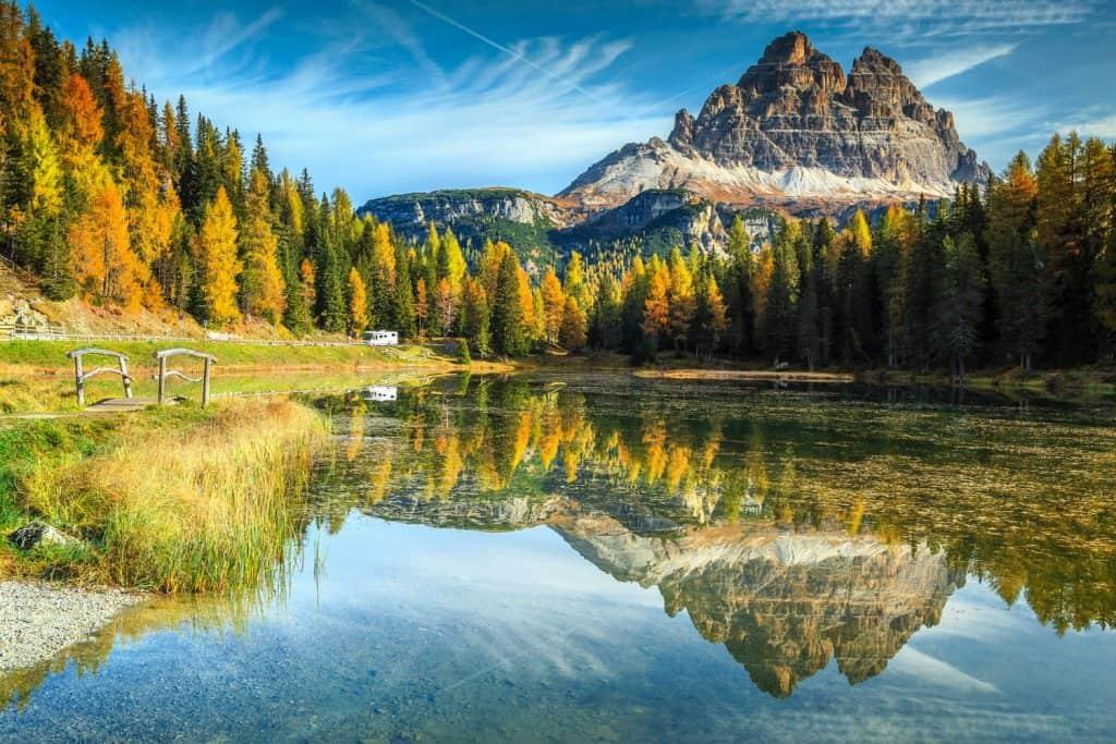 دولوميت Dolomites افضل اماكن الهايكنق في العالم