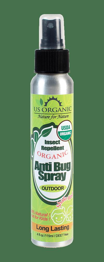 US Organic Spray (ممتاز كطارد ناموس طبيعي) كريم طارد الناموس بالبرتقال
