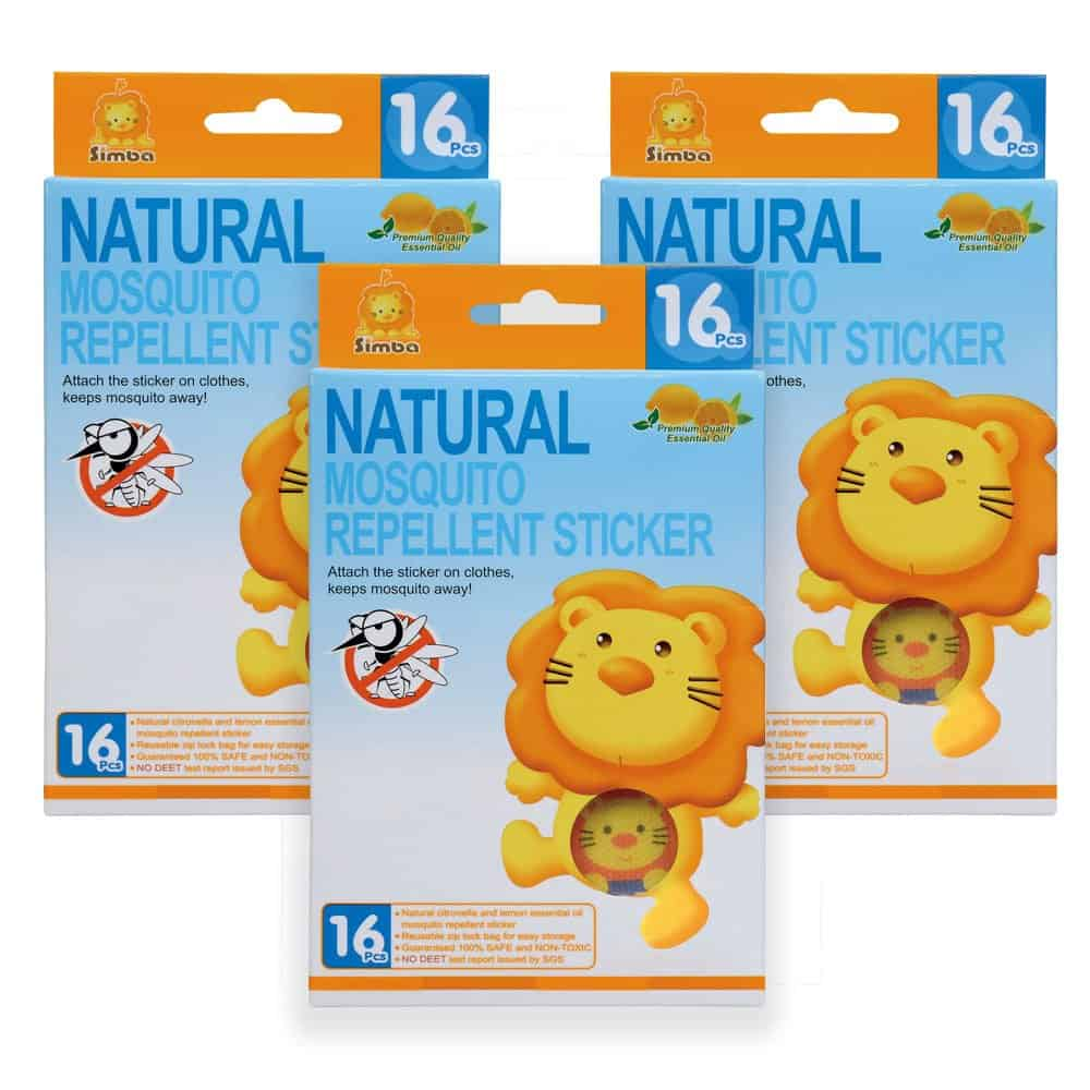 Simba Repellent Stickers (بديل الاسبراي)