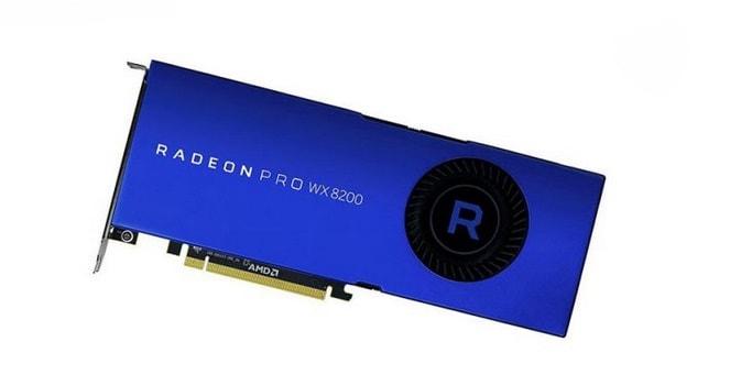 كرت شاشة أي إم دي AMD Radeon Pro WX8200