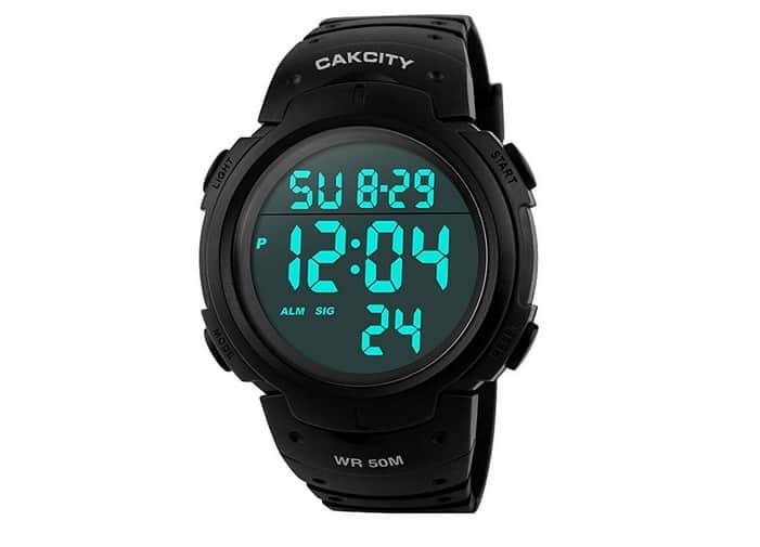 ساعة كاك سيتي CakCity Men's Digital Sports Watch ساعات رياضية رجالية