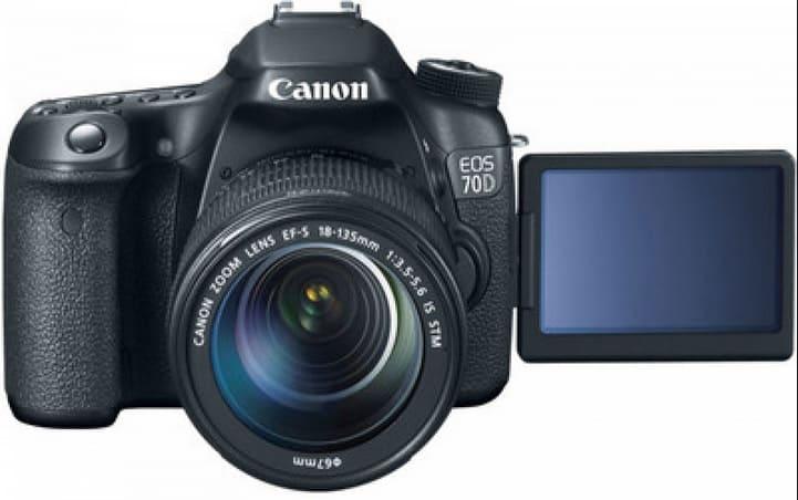 كاميرا كانون Canon 70D EOS افضل كاميرا كانون احترافية