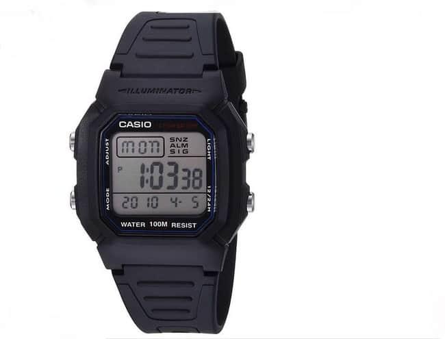 ساعة كاسيو Casio Men's Classic W800H-1AV ساعات رجاليه جلد